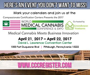 World Medical Cannabis Conference & Expo - April 21-22, 2017 - Pittsburgh, PA
