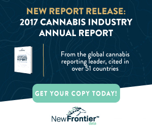 NewFrontier - 2017 Cannabis Industry Annual Report