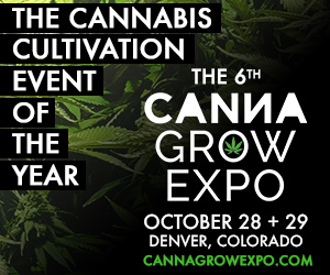 The 6th CannaGrow Expo - October 28 + 29 - Denver, CO