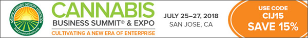 Cannabis Business Summit & Expo - July 25-27, 2018 - San Jose, C
