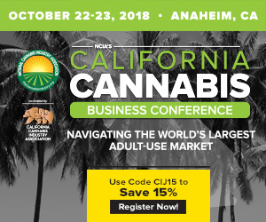 California Cannabis Business Conference - October 22-23, 2018 - Anaheim, CA