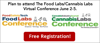 lan to attend The Food Labs/Cannabis Labs Virtual Conference June 2-4.