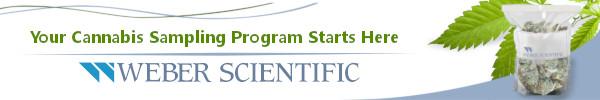 Weber Scientific - Your Cannabis Sampling Program Starts Here