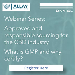 DNV-GL Webinar Series: Approved & Responsible Sourceing for the CBD industry