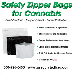Associated Bag - Safety Zipper Bags for Cannabis