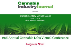 2ndAnnual Cannabis Labs Virtual Conference - April 2, 2019