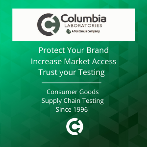 Columbia Laboratories - Consumer Goods Supply Chain Testing Since 1996