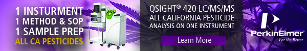 PerkinElmer - Qsight 420 LC/MS/MS All California Pesticide Analysis on One Instrument