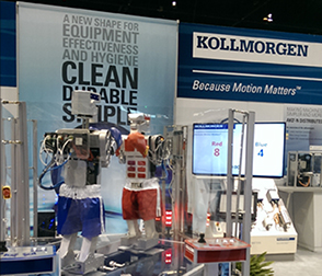 Kollmorgen Pack Expo 2016 Booth