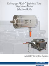 Kollmorgen AKMH Edelstahl-Servomotor Selection Guide
