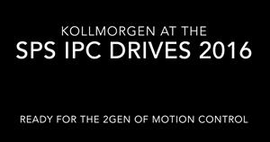 Kollmorgen auf der sps ipc drives 2016