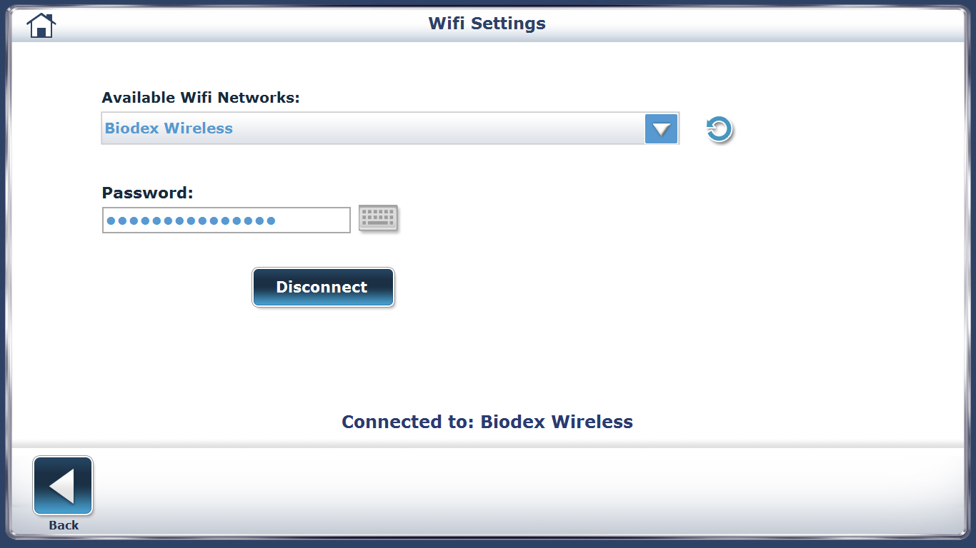 Connecting to WiFi Step 5 Screen