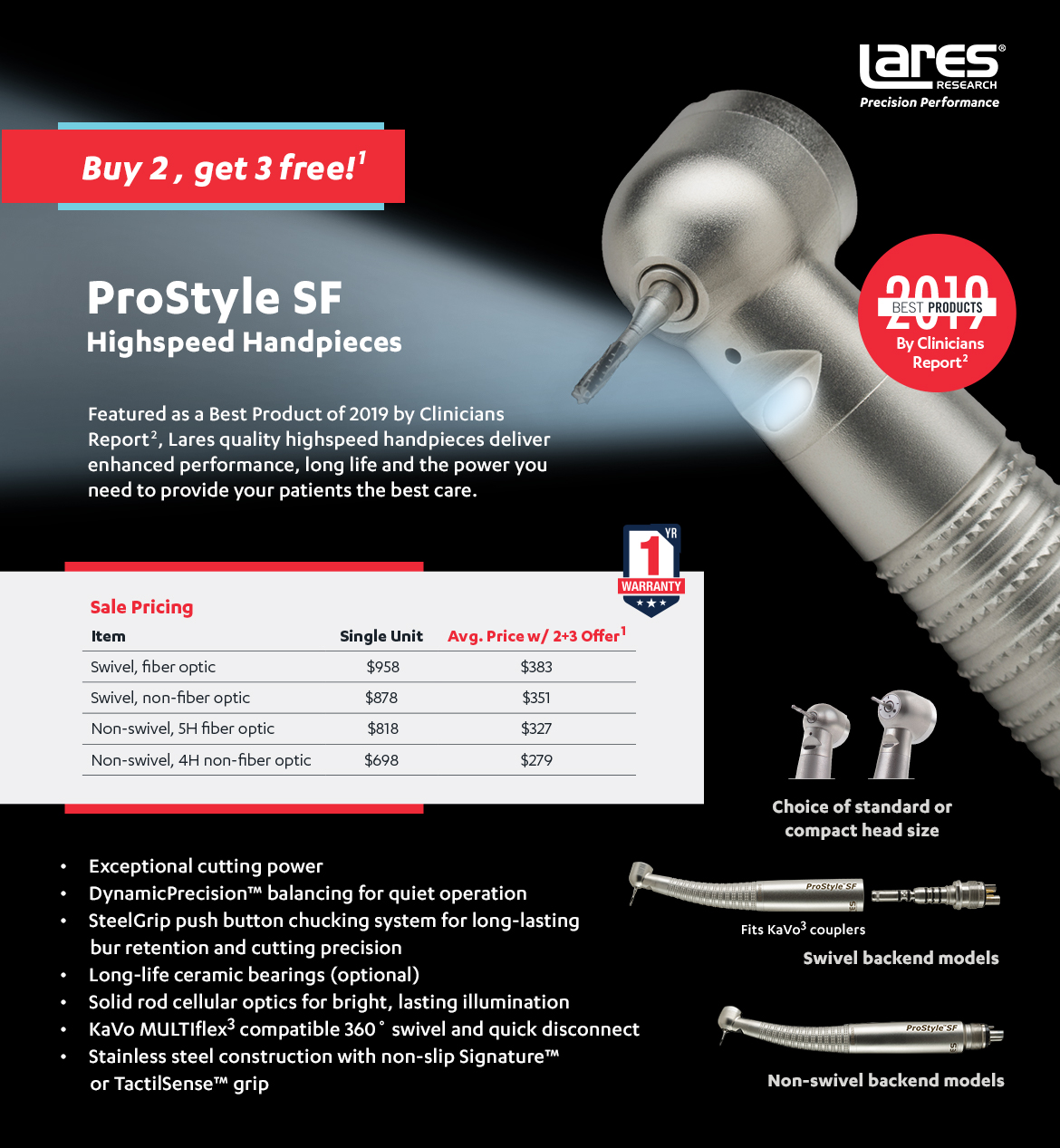 ProStyle SF Buy 2 Get 3 Free